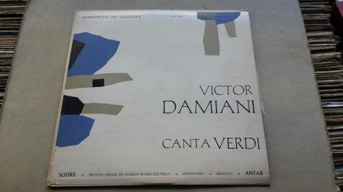 victor damiani canta verdi