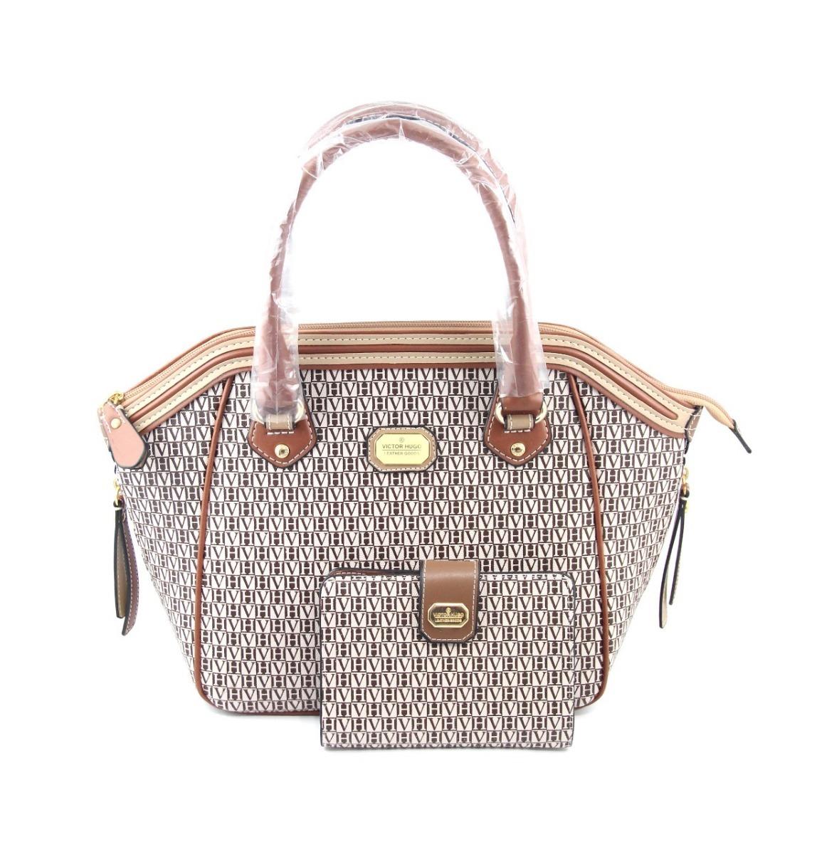Victor Hugo Leather Goods Bolsa Original Corsa Couro Oferta Carregando Zoom