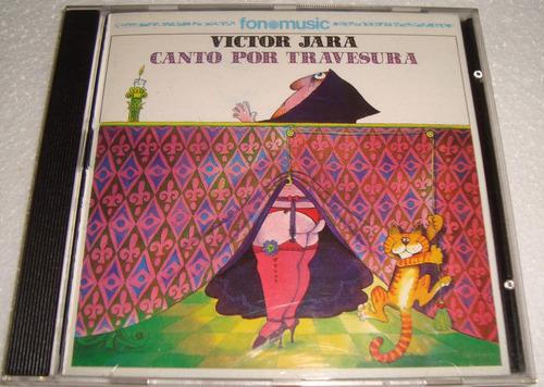 victor jara canto por travesura cd excelente