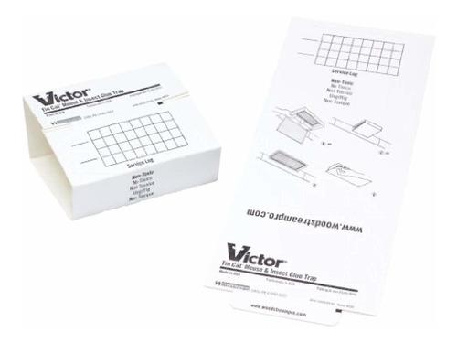 victor tin cat glue boards m309 - case  72 boards