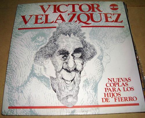 victor velazquez nuevas coplas para los hijos de fierro lp