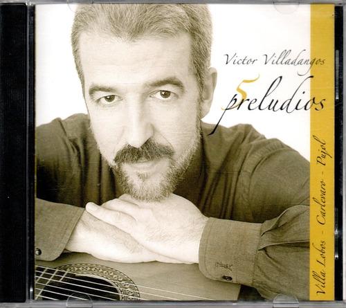 victor villadangos 5 preludios guitarra