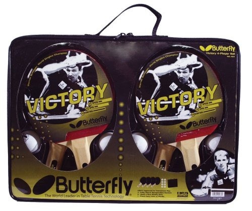 victoria butterfly 4-player set table tennis
