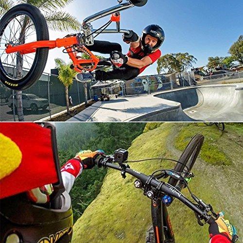 Cámara de acción titular de la Sport Bici Bicicleta Manillar de montaje 360 grados de rotación