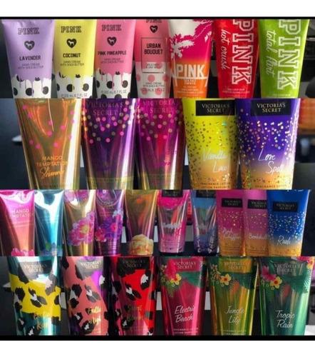 victoria secret -pink -cremas