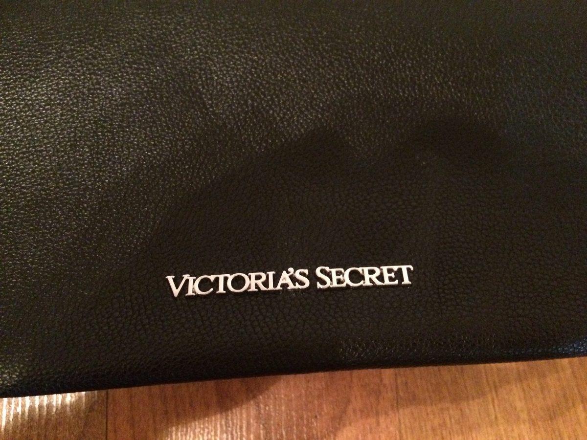 Bolsa Dourada Victoria Secrets : Bolsa mochila victorias secret barbitas negra grande