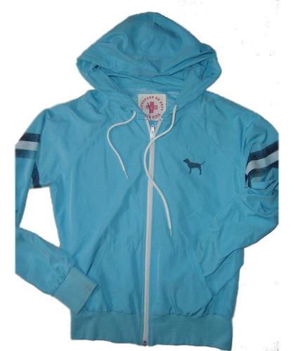 victoria's secret campera hoodie rompevientoe.gratis cuotas