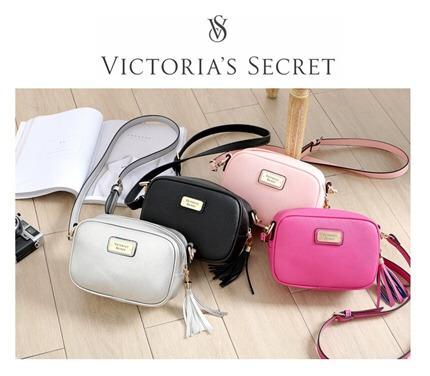 c5aeca88a Victorias Secret Carterita Bandolera + Bolsa + Envío Gratis ...