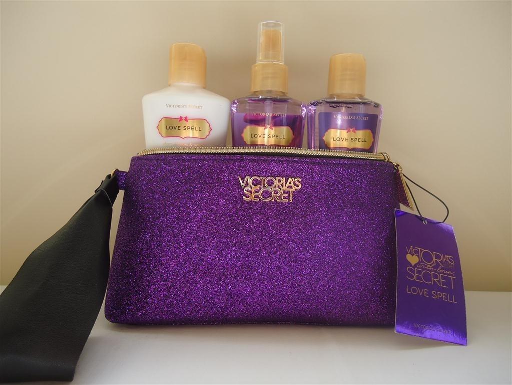Victorias Secret Kit Com 3 Produtos + Necessaire Em