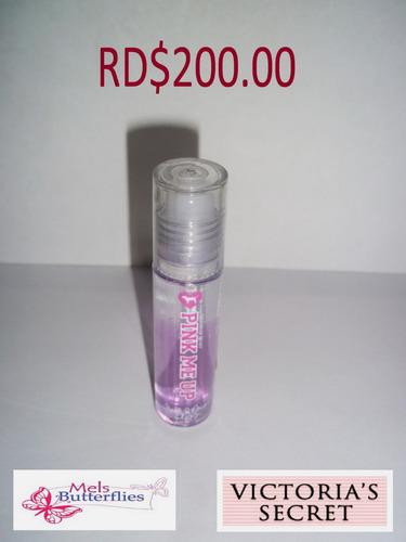 victoria's secret lip gloss pink me up
