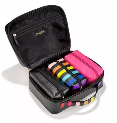 victoria's secret neceser pack de 3 con estuche valija! pink