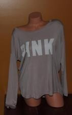 victoria´s secret pink camiseta manga larga m original usa