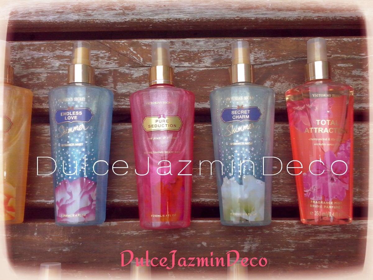 perfume con brillos
