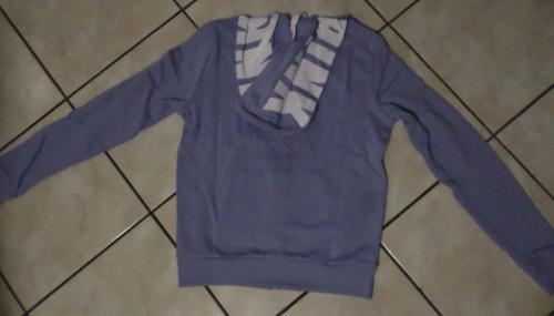 victorias secret sudadera hoodie color lila capucha amyglo