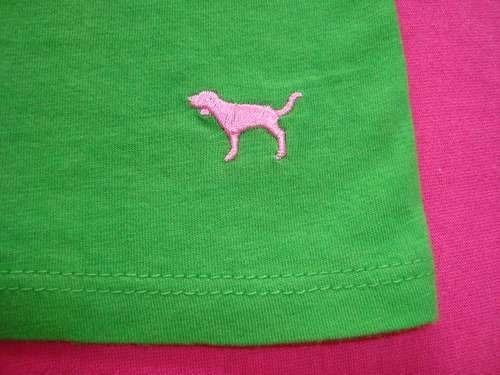 victoria's secret top crop pink s c/corpiño en.gratis cuotas