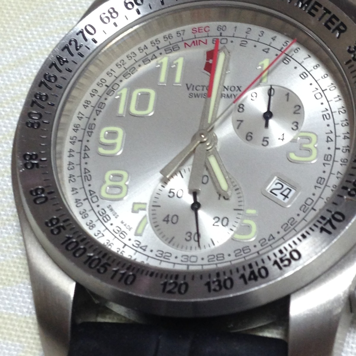 492b80bcfdb victorinox swiss army ground force titanium 100m lindão! Carregando zoom.