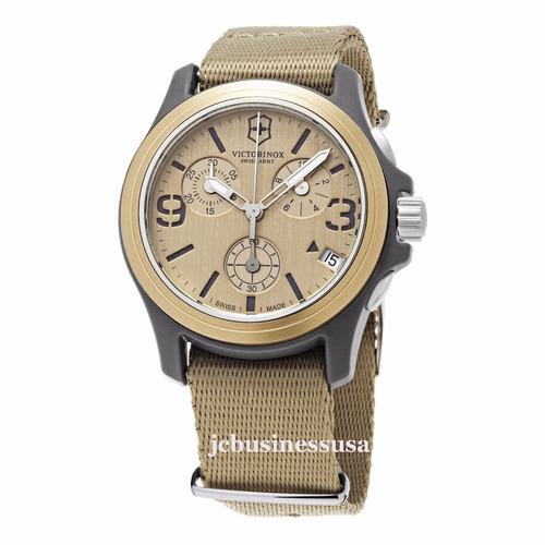 victorinox swiss army reloj unisex cronografo importac ee.uu