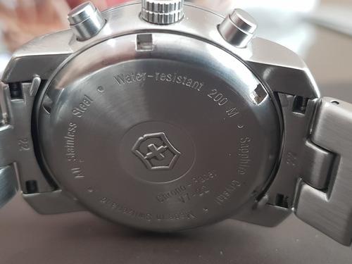victorinox v7 chrono-racer suizo original 100%
