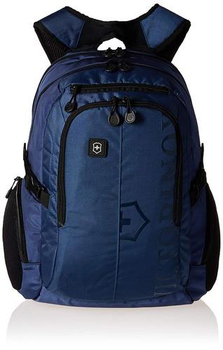 victorinox vx deporte piloto laptop mochila , azul / negro l