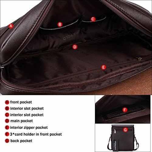 653e284f2b Vicuna Polo Pu Leather Men Messenger Bag Cross Body Bag Shou ...