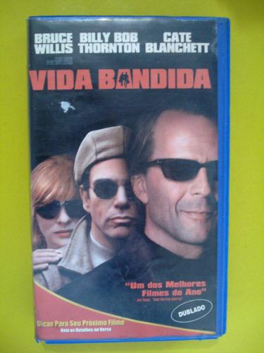 vida bandida/ bruce willis/ vhs