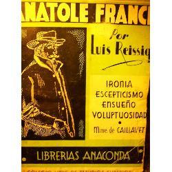 vida de anatole france santa radegunda luis reissig anaconda