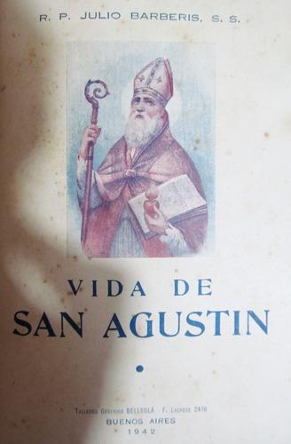 vida de san agustín. obispo de hipona y doctor de la iglesia