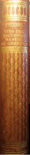vida del escudero marcos de obregon, de vicente espinel