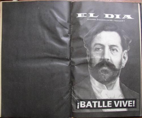 vida don pepe batlle 7 fasciculos encuadernados el dia 1979