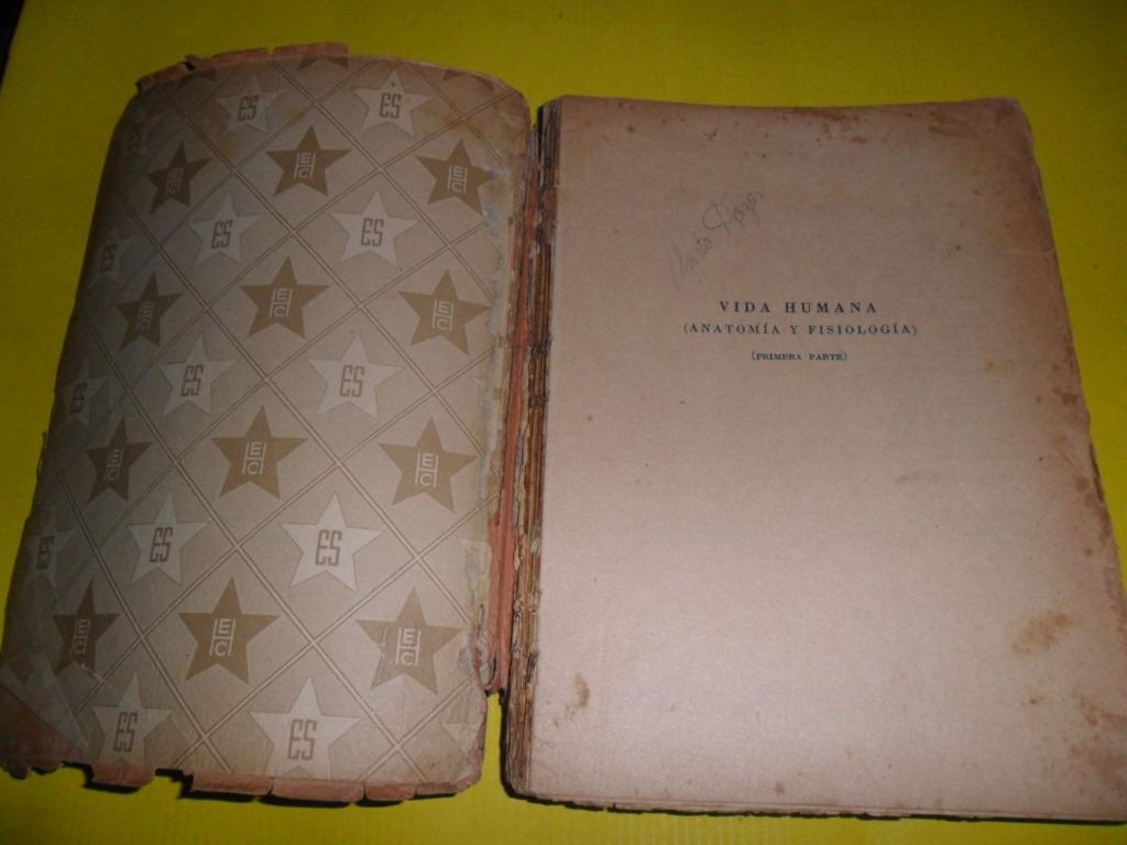 Vida Humana Anatomia Fisiologia Jorge Vidal Stella 1954 - $ 99,00 en ...