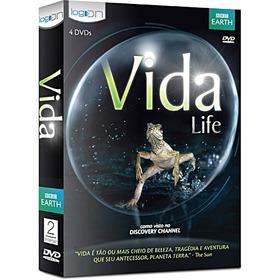 Vida Life - A Luta Pela Vida (box Com 4 Dvds)  Novo Lacrado