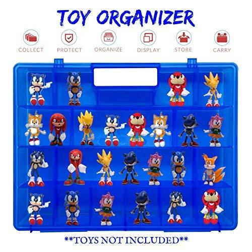 vida mejor, portatil azul facil de llevar funda de juguete,