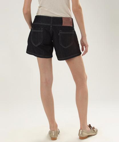 vide bula short bermuda jeans preto nº 34 pomoção