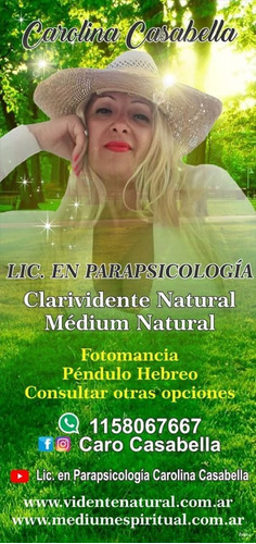 vidente parapsicologa médium,trabajos,consultas online