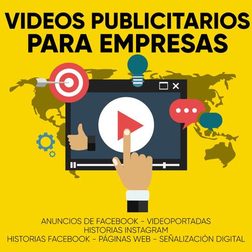 video animaciones spots publicitarios y pantallas p/ empresa