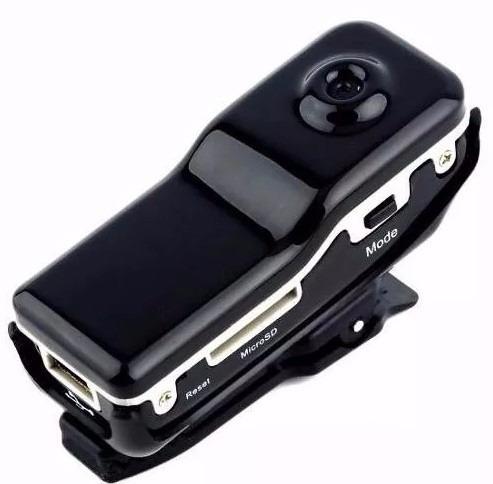vídeo áudio micro câmera