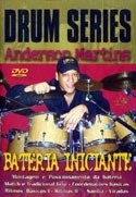 video aula  bateria iniciante drum series - anderson martins