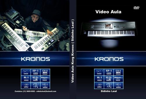 vídeo aula korg kronos - r$110,00 ( retirar com o vendedor )