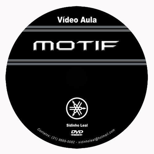 vídeo aula motif xs&xf com pack sounds 159,90 fretegrátis!