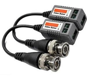 video balun hd  par para cámaras de seguridad 400mts