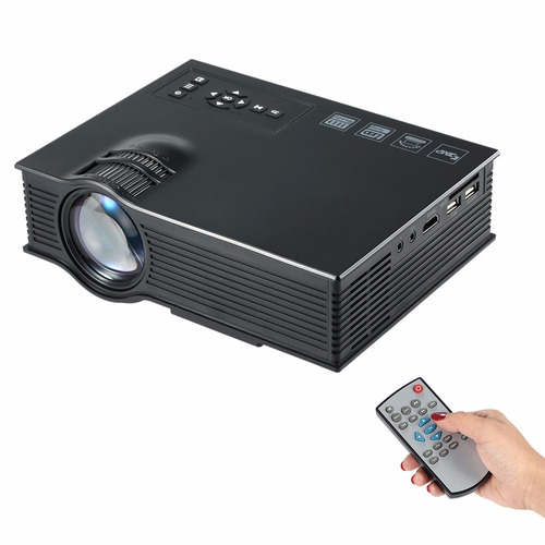 video beam mini proyector 3d gratis telon cable hdmi y envio