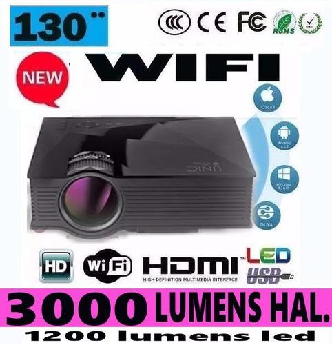 video beam  proyector 130 pulgadas ultima versión del año.