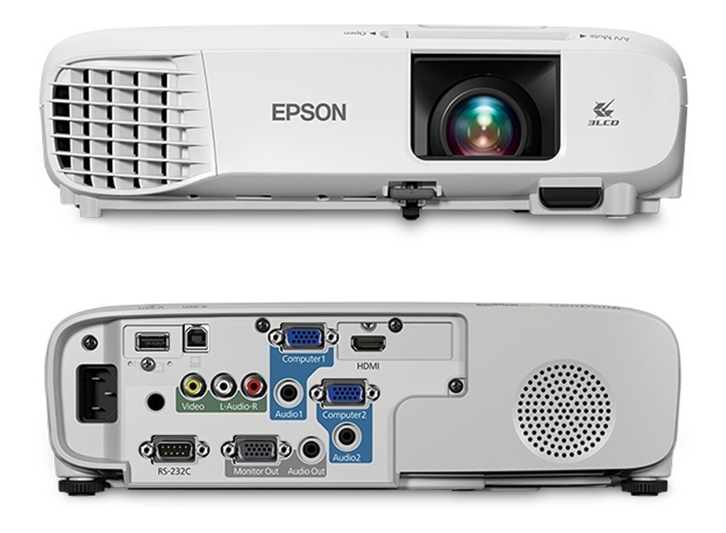 Video Beam Proyector Epson Powerlite S39 + Svga 3300 Lumenes ...