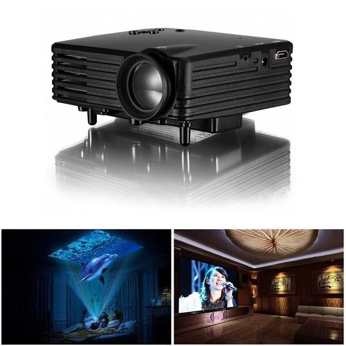 video beam proyector hdmi usb vga sd av dvd tv pc 480