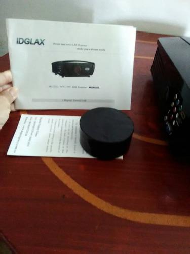 video beem proyector led idglax conservado.