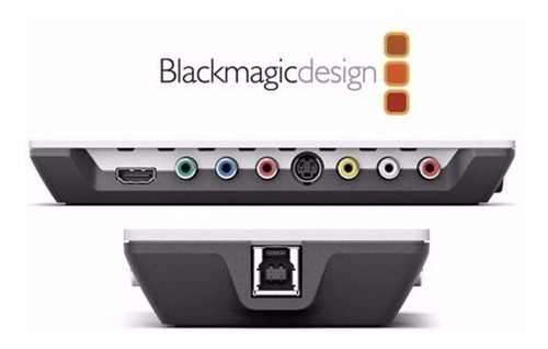 video blackmagic captura