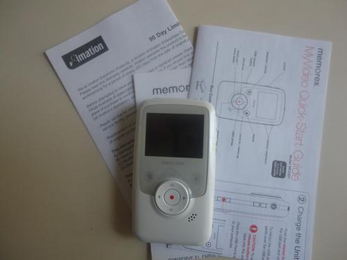 vídeo camara de bolsillo pendriver memorex myvideo mcc221wht