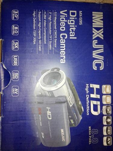 video cámara digital jvc