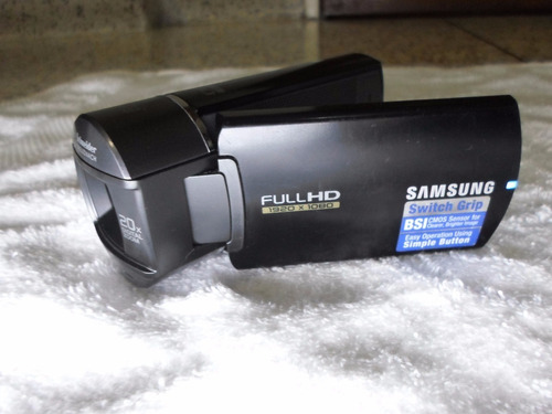 video camara filmadora samsung full hd hmx-q10