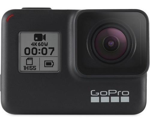 video cámara gopro hero 7 negra / black  4k/60fps súperfoto